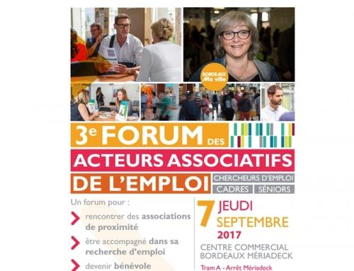 CTP Guyenne Acteur Associatif de l'Emploi à Mériadeck le 7 septembre