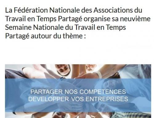 9ème Semaine Nationale du Travail en Temps Partagé du 9 au 14 octobre 2017